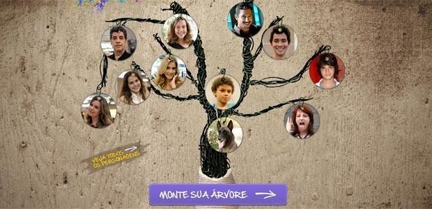 Árvore Genealógica Malhação  (Foto: Malhação / TV Globo)