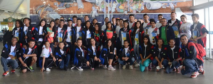 Atletas do Maranhão no infantil vão para Jogos Escolares da Juventude 2015 em Fortaleza (Foto: Divulgação)