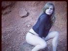 Ex-BBB Paulinha posta foto antiga na qual aparece sexy e mais magra