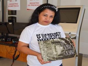 Ivanete Leal da Paixão  (Foto: Tássio Andrade/G1)