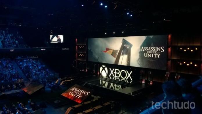 E3 Assasins Creed Xbox (Foto: Isadora Díaz/TechTudo)