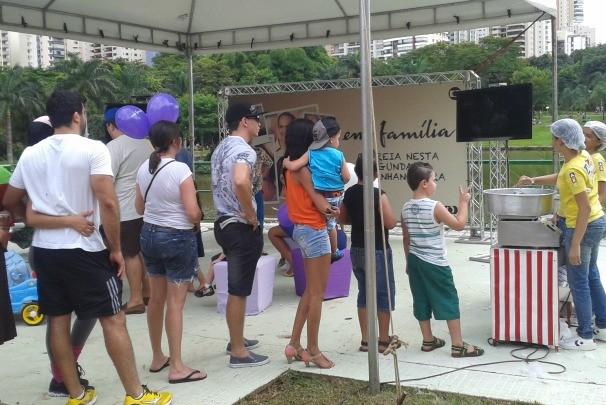 Fim de semana especial no Parque Vaca Brava (Foto: Divulgação/TV Anhanguera)