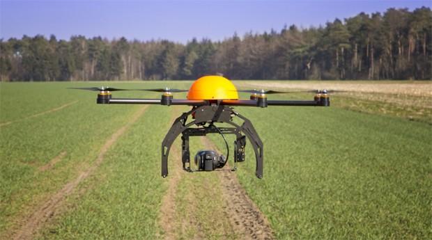 Os drones ganham espaço no campo