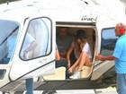 Top Cara Delevingne chega ao Rio para ver Rihanna no Rock in Rio