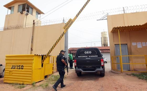 O Complexo Penitenciário de Pedrinhas, no Maranhão (Foto: Márcio Fernandes/AE)