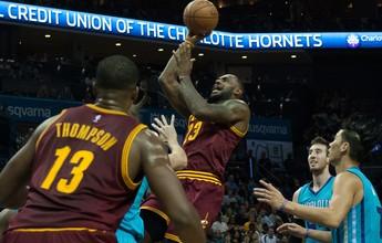 Com 25 pontos de LeBron James, Cavaliers voltam a vencer fora de casa