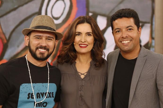 Mais fotos dos bastidores do 'Encontro' (Foto: Ellen Soares/Gshow)