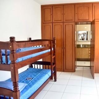 Casa Meninos da Vila tem dois andares e os quartos são para dois atletas (Foto: Ivan Storti/Santos FC)