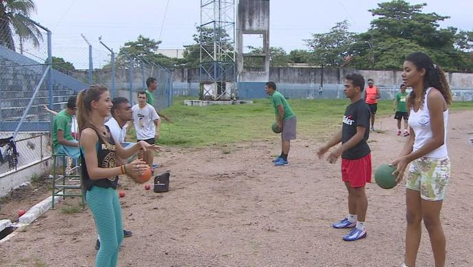 Rondônia Clube Paralímpico (Foto: Reprodução/TV Rondônia)