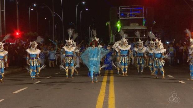 ensaio técnico, carnaval, amapá tv (Foto: Amapá TV)