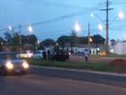 Acidente em avenida de Uberaba deixa dois feridos