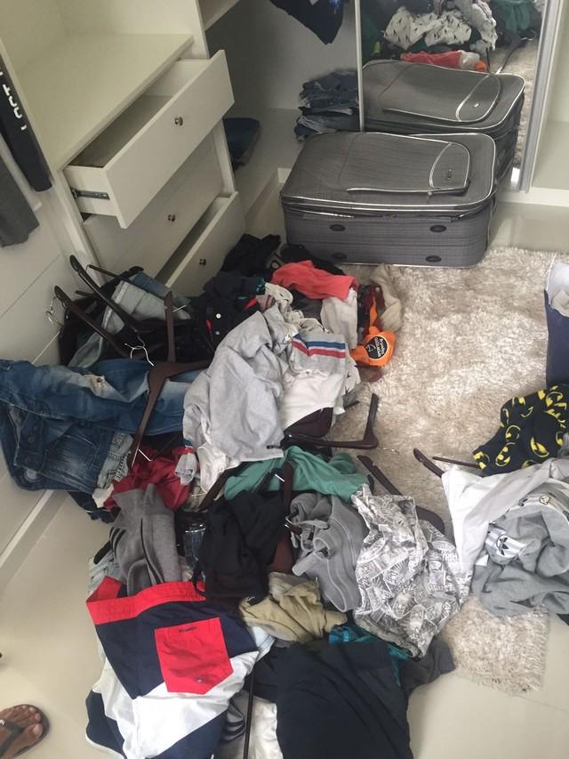 Fernandão Fenerbahçe casa assaltada (Foto: Arquivo pessoal)