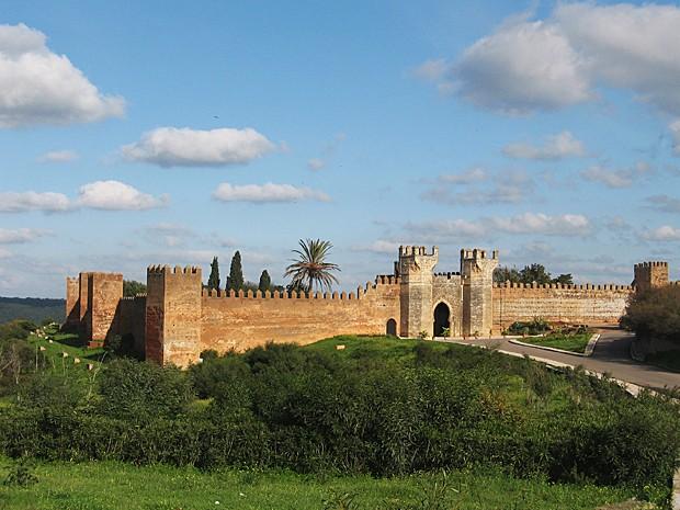 Ruína romana de Chellah, na periferia da cidade de Rabat (Foto: Giovanna Dell'Orto/AP)