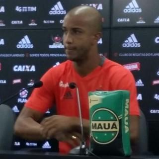 Jorge Flamengo (Foto: Matheus Palmieri / GloboEsporte.com)