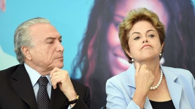 Michel Temer e Dilma Rousseff (Foto: AFP)