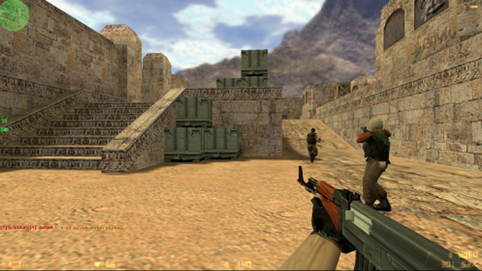 Counter-Strike (Foto: Reprodução/Felipe Vinha)