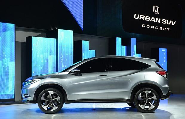 Honda Urban SUV Concept compartilha motor e plataforma com Fit (Foto: AFP)