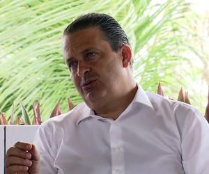 TRAJETÓRIA: Eduardo Campos começou na política aos 21 anos (globonews)