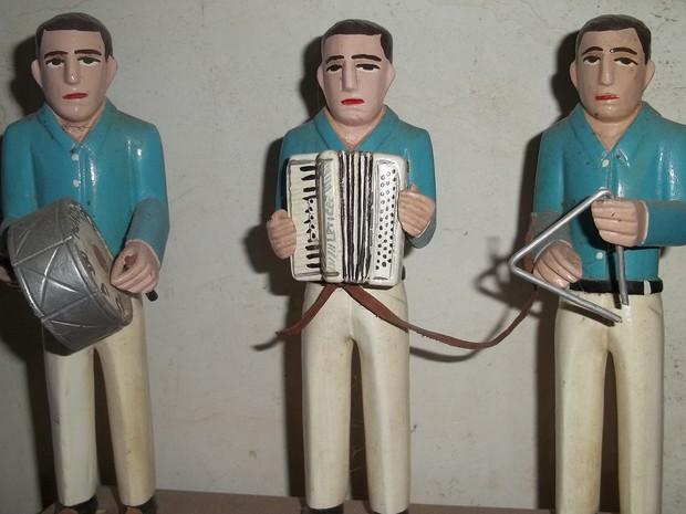 O forró que anima os 31 dias de festa em Campina Grande é comandado por trios de forró (Foto: Rafael Melo/ G1)