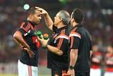 Alecsandro vai ao Ninho do Urubu  em dia de treino físico do Flamengo