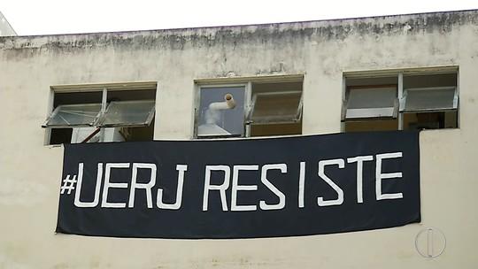 Alunos declaram 'luto' na Uerj em Nova Friburgo, no RJ