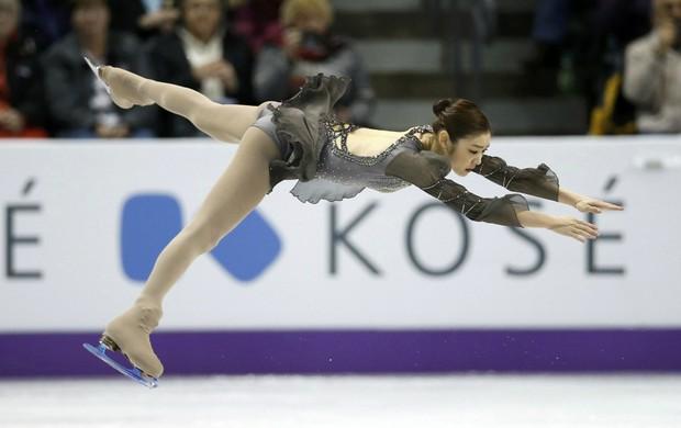 Yuna Kim no Mundial de Patinação do Canadá (Foto: Reuters)