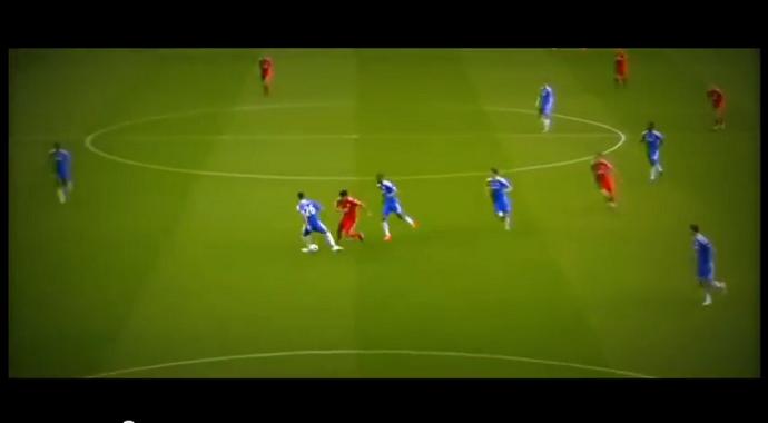 Frame - caneta Suárez no Terry