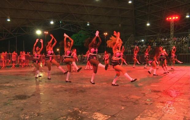Grupos folclóricos de Roraima se apresentam no Festival Makunaima (Foto: Roraima TV)
