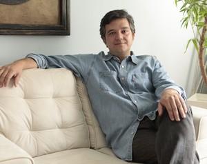 Leopoldo, participante do Jogo de Panelas III, foi obrigado a aprender a cozinhar quando se separou (Foto: Mais Você / TV Globo)