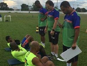 Ariquemes intensifica treinos para o Estadual  (Foto: Ariquemes Futebol Clube/ Divulgação )