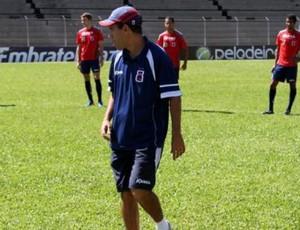 Ricardinho em treino do Paraná Clube (Foto: Divulgação/site oficial do Paraná Clube)