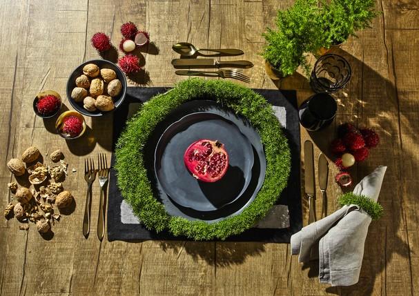 Natal - mesa (Foto: Reprodução)