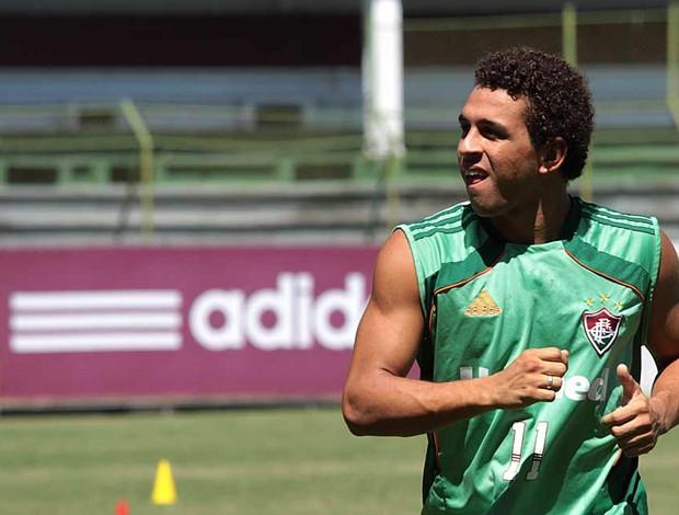Treino dos titulares do Fluminense (Foto: Ralff Santos/Fluminense F.C.)