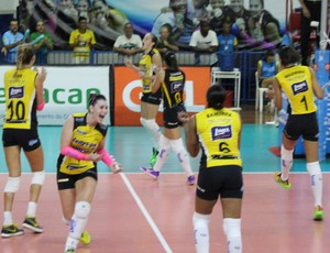 Praia Clube Uberlândia Brasília Superliga Feminina de vôlei (Foto: Praia Clube/Divulgação)
