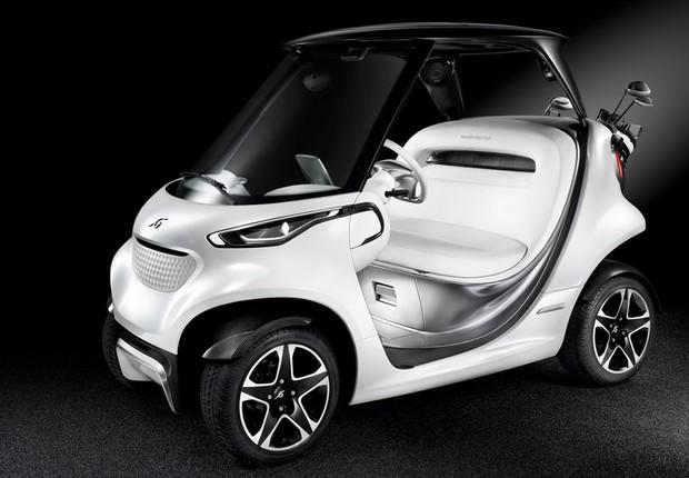 Mercedes-Benz Style Edition Garia Golf Car (Foto: Divulgação)