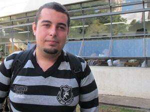 O estudante Pedro Resende (Foto: Ana Carolina Moreno/G1)