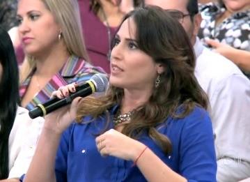 Leila Loureiro - Encontro (Foto: Reprodução/TV Liberal)