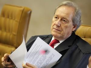 O ministro Ricardo Lewandowski, do Supremo Tribunal Federal (Foto: Carlos Humberto / STF)