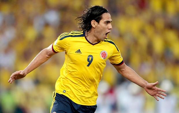 Falcao Garcia gol Colômbia contra Peru (Foto: Reuters)