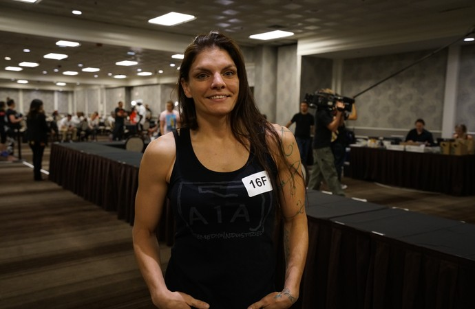 Lauren Murphy; TUF Tryouts (Foto: Evelyn Rodrigues)