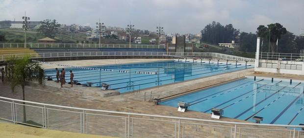 Parque Aquático do Centro Esportivo de Alto Rendimento, em Campinas (Foto: Murilo Borges / Globoesporte.com)