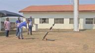 Estudantes de escola pública de Poconé desenvolvem foguete em projeto