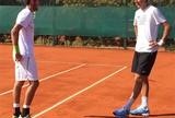 Fora da Copa Davis, Del Potro vira sparring da equipe argentina