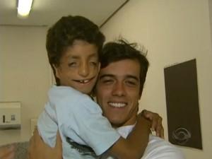 Felipe e Gabriel (Foto: Reprodução RBS TV)