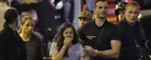 'Foi um corre para avisar no WhatsApp que estamos vivos' (Kenzo Tribouillard/AFP)