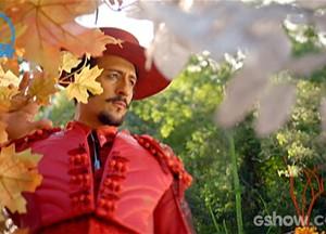 A mudança de Zelão coincide com a chegada do outono. Não é acaso! (Foto: Meu Pedacinho de Chão/TV Globo)