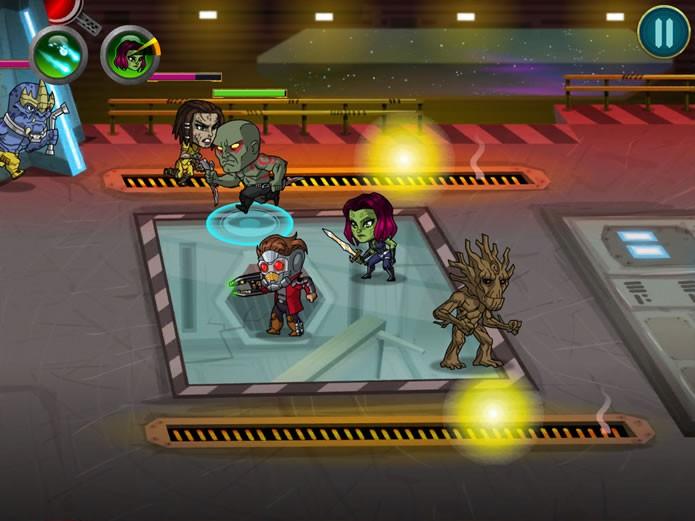 O game possui partidas que combinam a jogabilidade de jogos de ação e estratégia em tempo real, e possui um desenvolvimento com a dinâmica de RPG (Foto: Reprodução/Daniel Ribeiro)