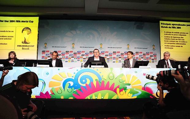 Coletiva Copa do Mundo (Foto: Marcos Ribolli)