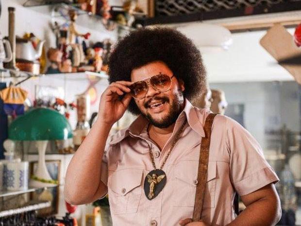 Babu Santana, um dos protagonistas de 'Tim Maia' (Foto: Páprica Fotografia/Divulgação)