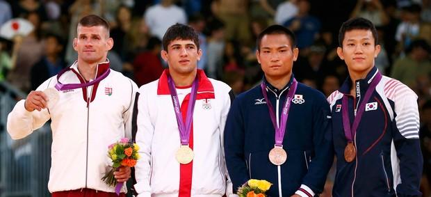 Lasha Shavdatuashvili judo olimpiadas londres 2012 (Foto: Reuters)